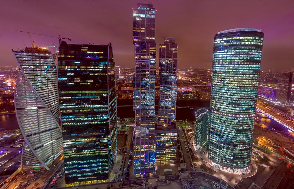 Москва-Сити изнутри
